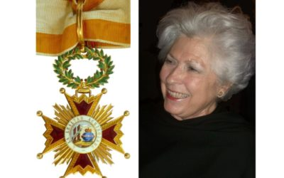 Encomienda de la Orden de Isabel la Católica a Petra Rodríguez-Conde